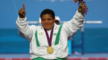 Image result for nigerian paralympic gold medalist